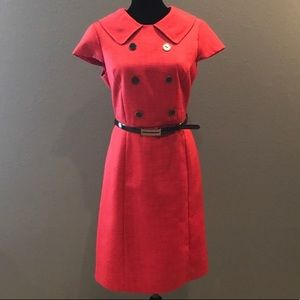 Red Retro Style Dress Size 10
